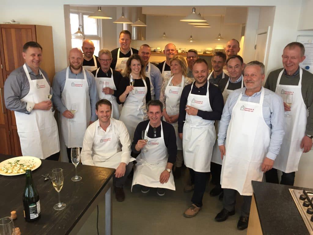 Gastronomisk teambuilding